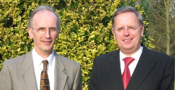 Ian Clarke and Steve Westall - founders of Pansophix Ltd